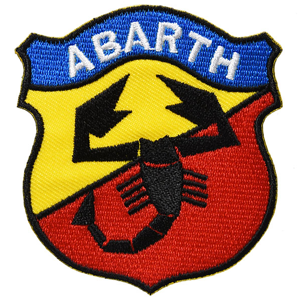 ABARTH Old Emblem Patch (Yellow/Red)