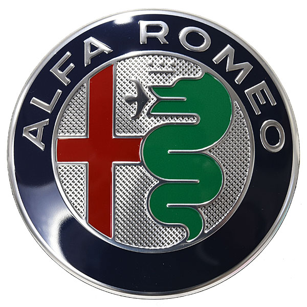 Alfa Romeo New Emblem(genuine)<br><font size=-1 color=red>08/28到着</font>
