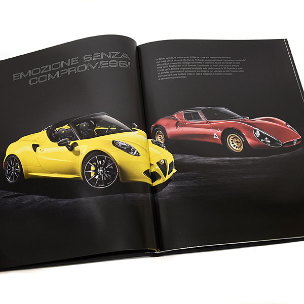 Alfa Romeo 4C spider catalogue