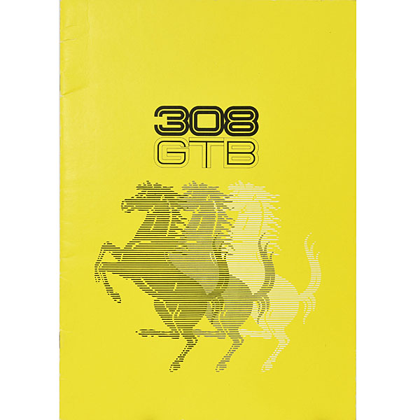 Ferrari 308GTB Catalogue(1976)