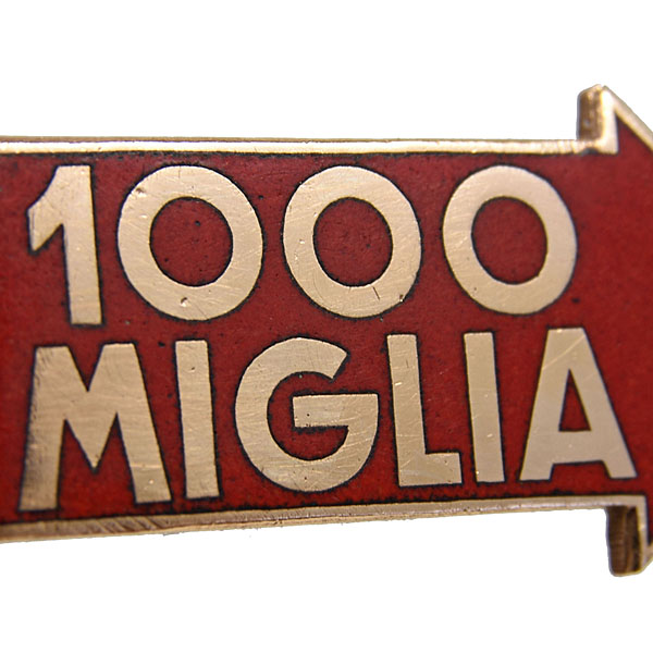 1000 MIGLIA Original Badge by LORIOLI MILANO