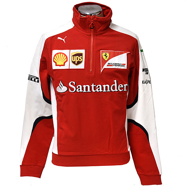 Scuderia Ferrari 2015 Half Zip Sweat Shirts for Pilot