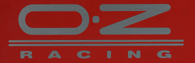 OZ RACING Logo Sticker