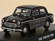 1/43 CARABINIERI Collection N.12 FIAT 1100/103 Miniature Model
