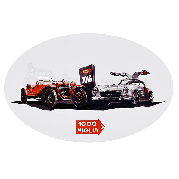 1000 MIGLIA 2016 Official Sticker
