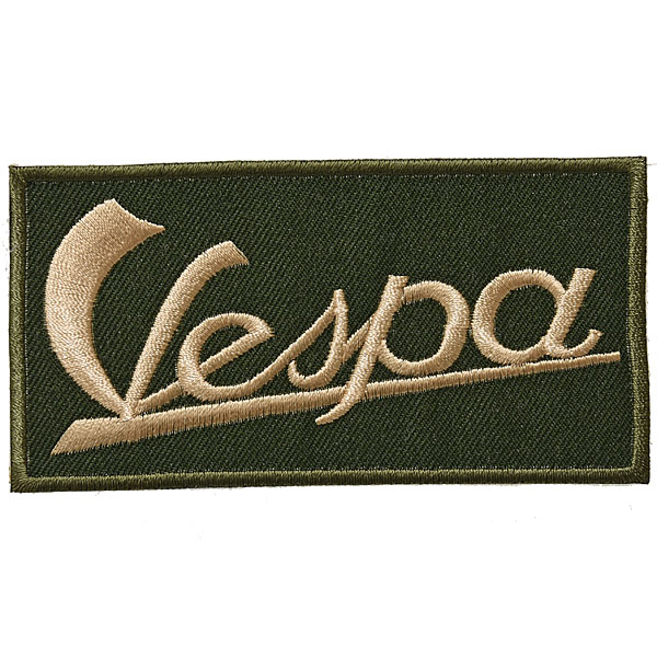Vespa Logo Patch(Green)