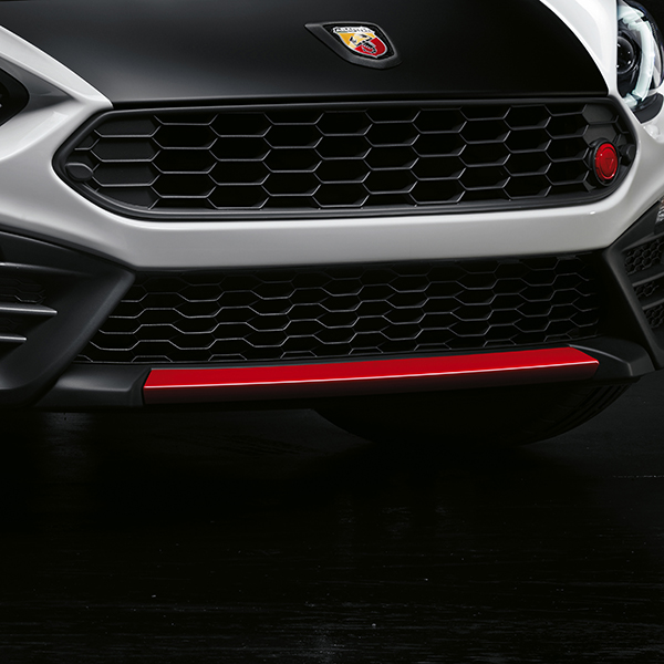 ABARTH 124spider Airdam Cover(Red)