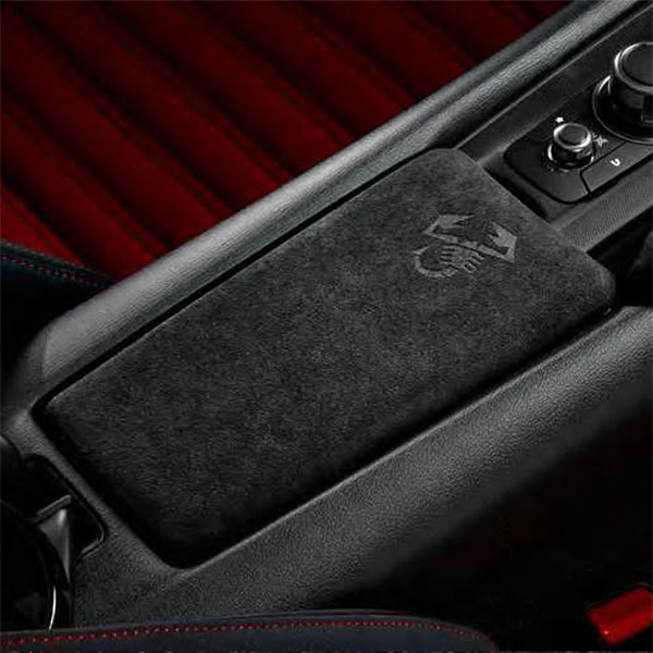 ABARTH 124spider Alcantara Console Lid<br><font size=-1 color=red>02/17到着</font>