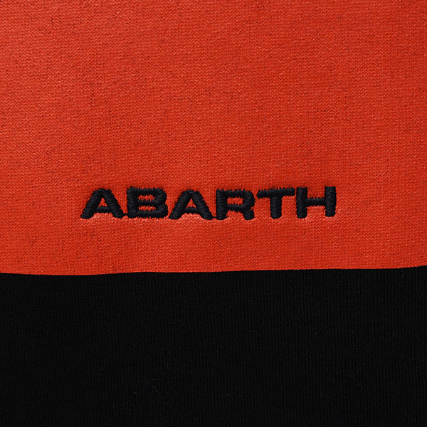 ABARTH Hooded Felpa(Technical/Black)