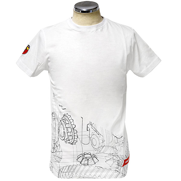 ABARTH T-Shirts(Technical/Mission Gear)White