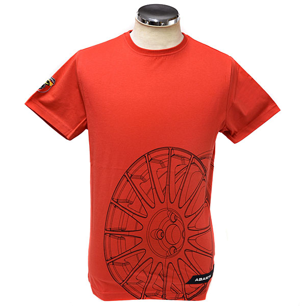 ABARTH T-Shirts(Technical/Wheel)Red