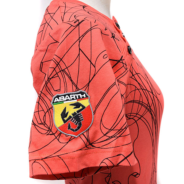 ABARTH T-Shirts(Technical/Red)for women