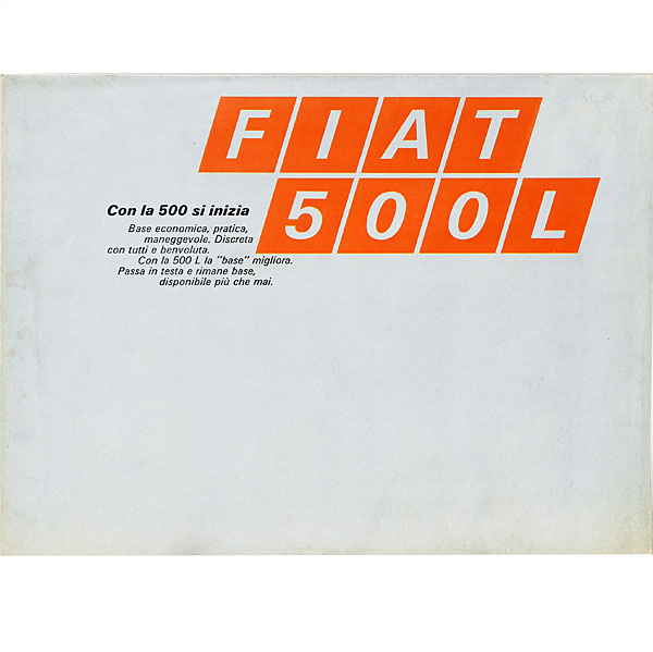 FIAT Nuova 500L Catalogue