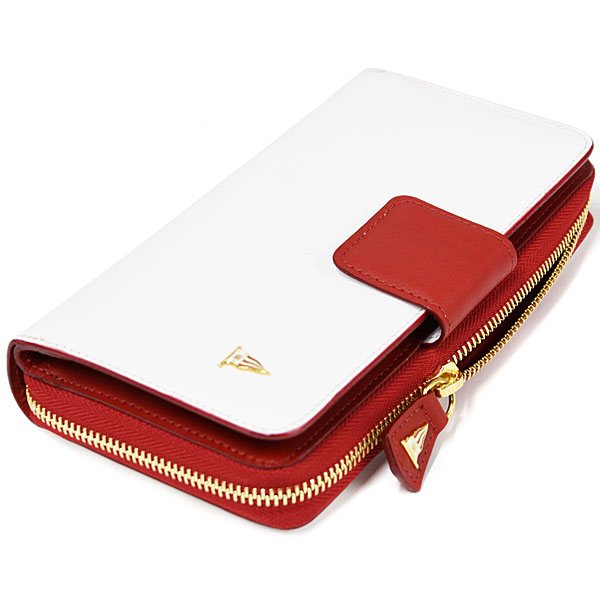 Yacht Club de Monaco Official Long Wallet White