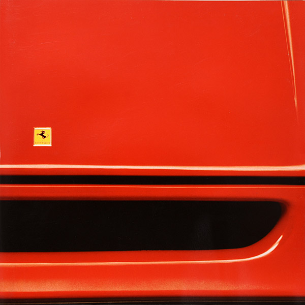 Ferrari F40 Late Version Sales broushure