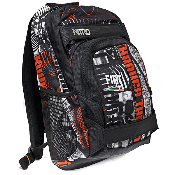FIAT Freestyle TEAM Back Pack by NITRO(Gray&Red)