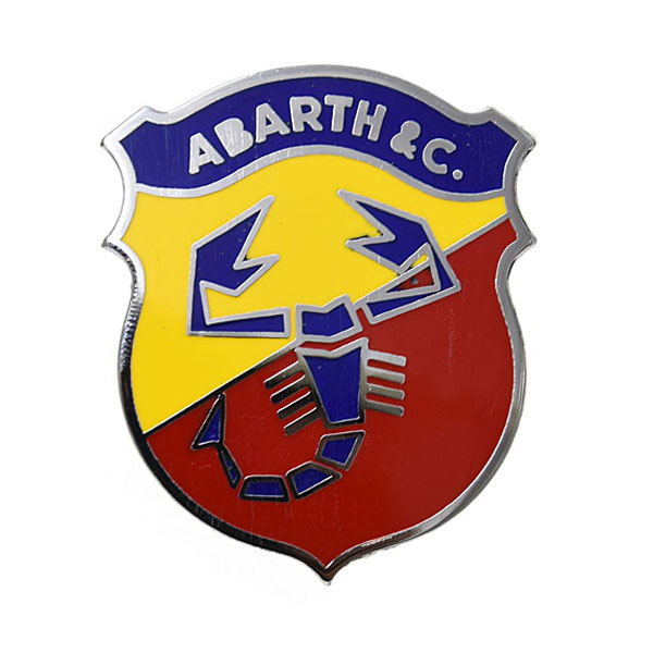 ABARTH &C Emblem Midium(Enamel Type)