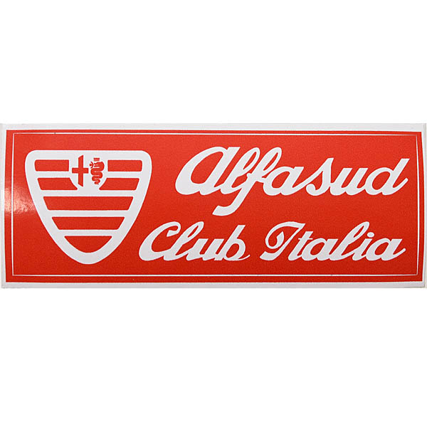 Alfasud Club Italia Sticker
