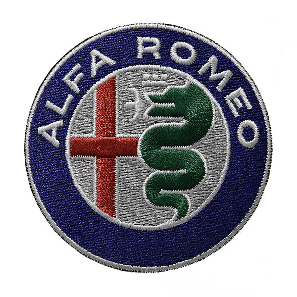 Alfa Romeo New Emblem Patch