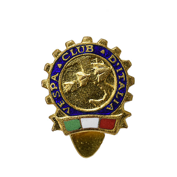 Vespa Club Italia Lapel Pin
