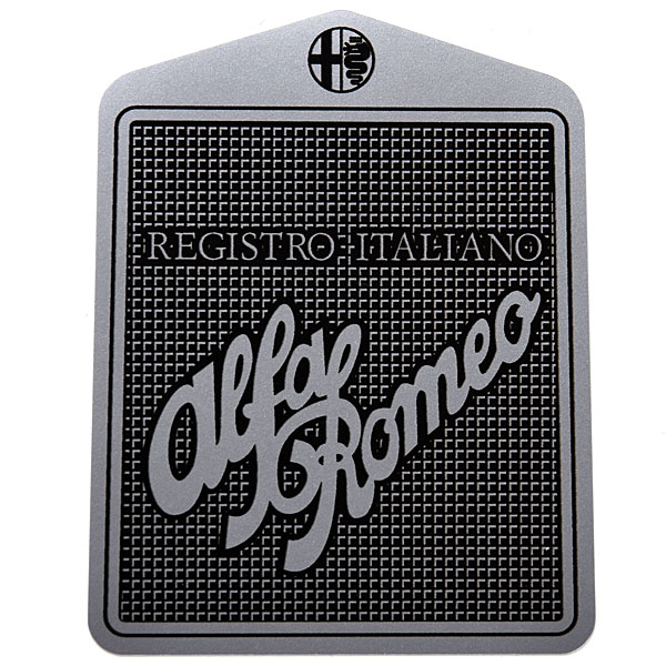 Registro Italiano Alfa Romeo Sticker