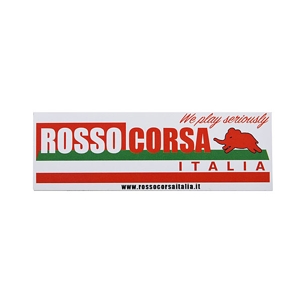 ROSSO CORSA ITALIAステッカー(Small)<br><font size=-1 color=red>10/30到着</font>