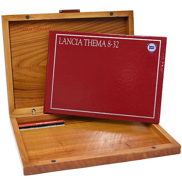 LANCIA Thema 8.32 Catalogue-with Wooden Box Special Edition-