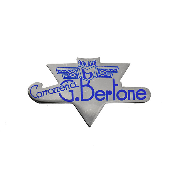 Carrozzeria bertone Emblem Shaped Pin Badge