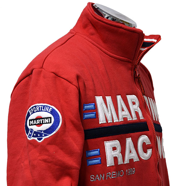 MARTINI RACING Felpa(Red)