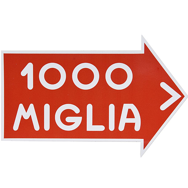 1000 MIGLIA Official Sticker XXL(Reverse Type)