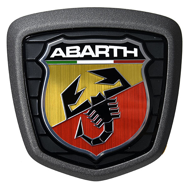 ABARTH 500 Tailgate Emblem(Dark Gray)