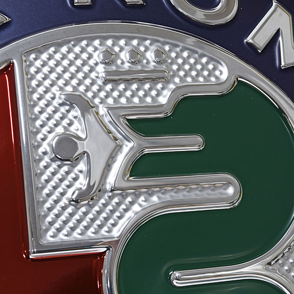 Alfa Romeo New Emblem Sign Boad