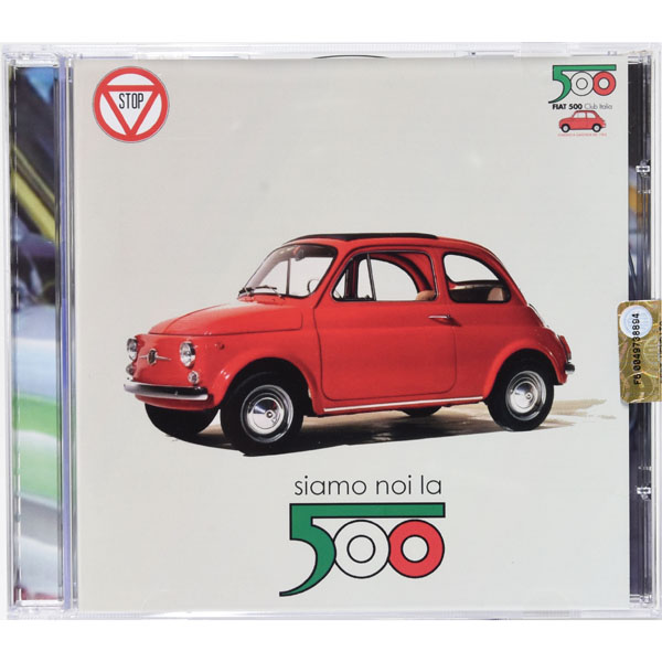 FIAT 500 CLUB ITALIA Official CD