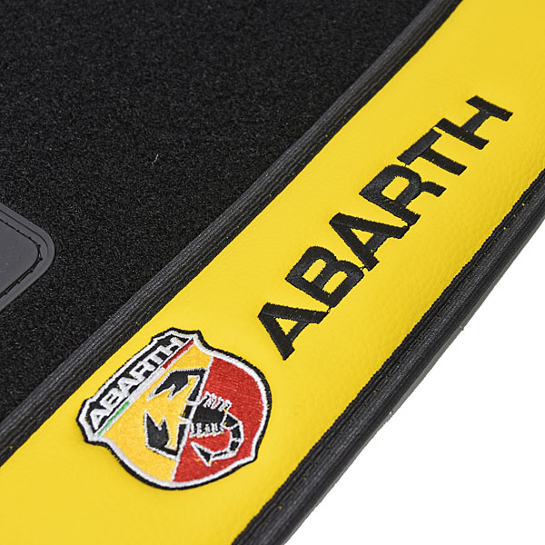 ABARTH 500 Floor Mats(for LHD)