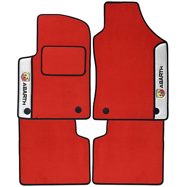 ABARTH 500 Floor Mats(for LHD/Silver Line)