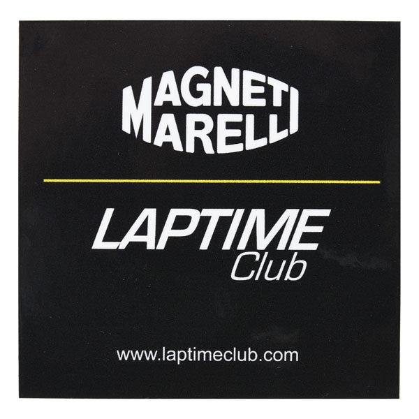 MAGNETI MARELLI Official Sticker(LAPTIME)
