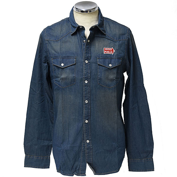 1000 MIGLIA Official Denim Shirts