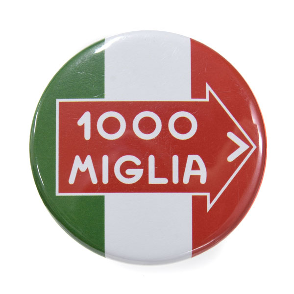 1000 MIGLIA Official Can Badge(ITALIA)