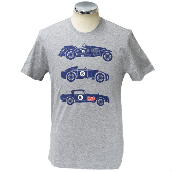 1000 MIGLIA Official T-Shirts-CAR-