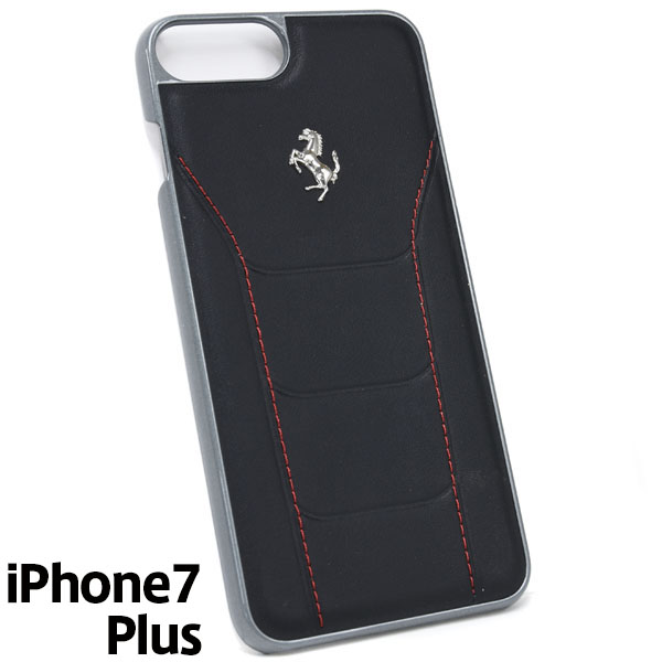 Ferrari iPhone7/6/6s Plus Leather Case-488/Black-