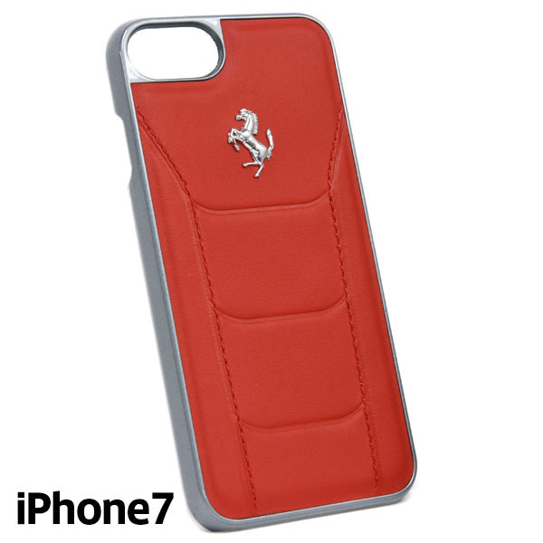 Ferrari iPhone7/6/6s Leather Case-488/Red-