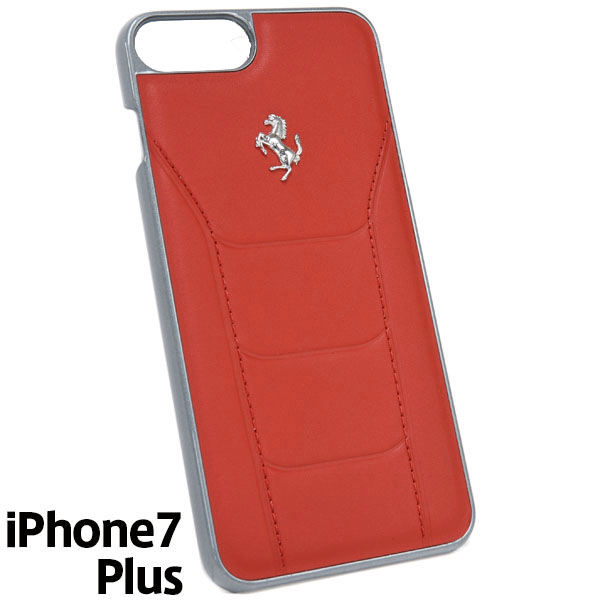 Ferrari iPhone7/6/6s Plus Leather Case-488/Red-