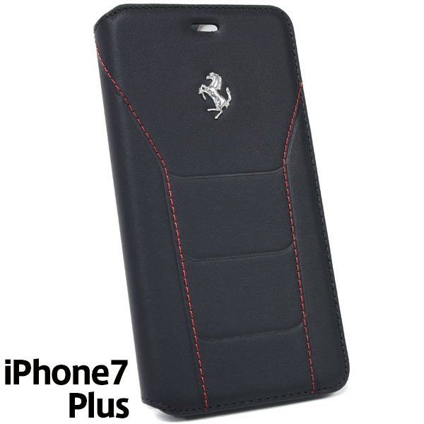 Ferrari iPhone7/6/6s Plus Book Type Case-488/Black-