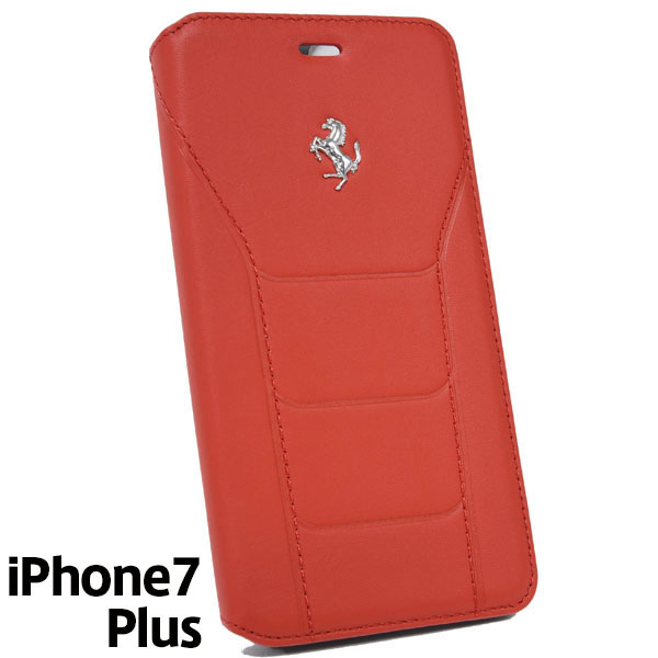 Ferrari iPhone7/6/6s Plus Book Type Case-488/Red-