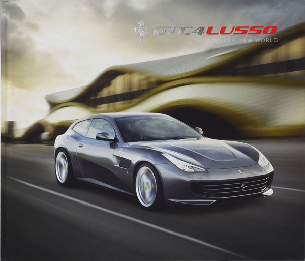 Ferrari GTC4 Lusso Catalogue Book