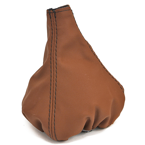 FIAT/ABARTH 500 Leather Shift Boot(Brown)<br><font size=-1 color=red>11/20到着</font>
