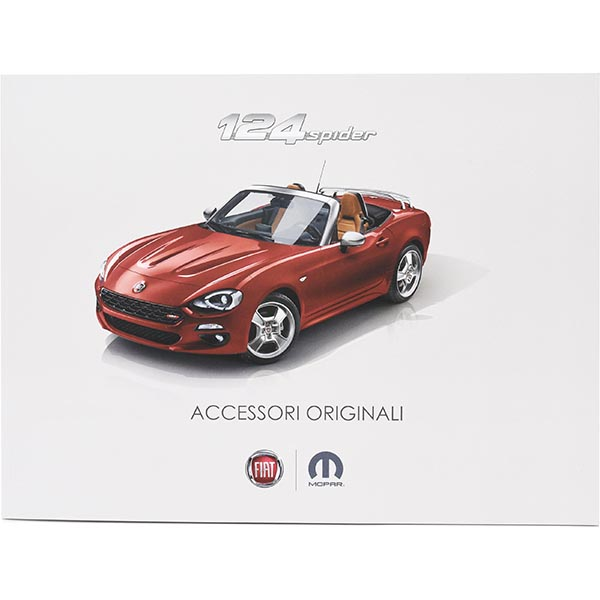 FIAT 124spider Accessories Catalogue