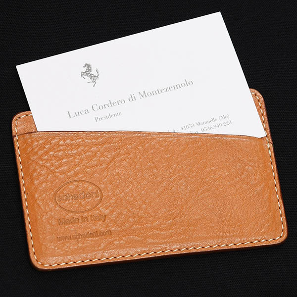 schedoni Leather Card holder & Montezemolo Card