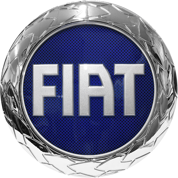 FIAT Emblem(Rear/Blue/85mm)
