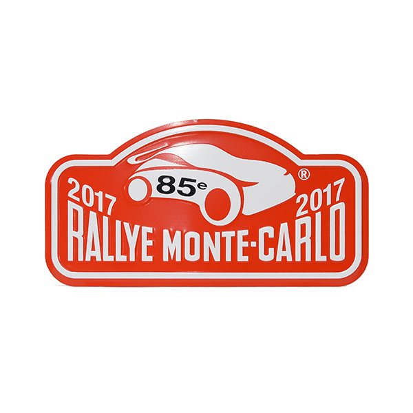 Rally Monte Carlo 2017 Official Metal Plate(Small)